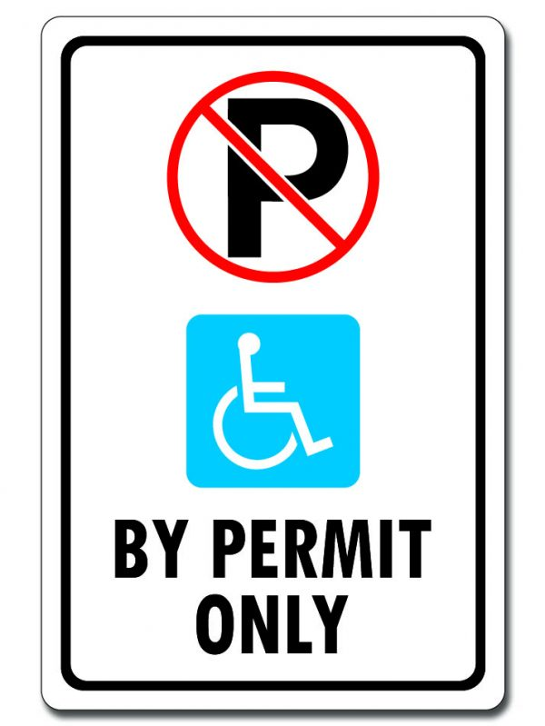 Handicap Parking - By Permit Only
