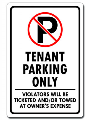 Tenant Parking Only
